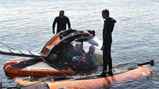 Vladimir Putin batık denizaltıyı inceledi