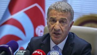 Trabzonspor Başkanı Ahmet Ağaoğlu'ndan Yusuf Yazıcı, transfer ve şampiyonluk sözleri