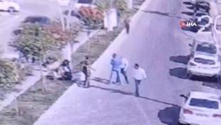 Karı koca doktora güpe gündüz saldırı kamerada!