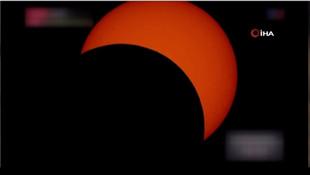 Tüm dünya güneş tutulmasını böyle izledi