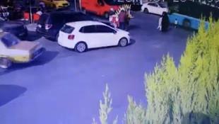 İstanbul'da dehşet anları kamerada! Çocuğunu o halde görünce bayıldı