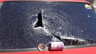 Otomobilde bırakılan deodorant bomba gibi patladı