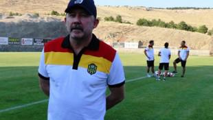 Sergen Yalçın: UEFA Avrupa Ligi'nde gruplara kalabilirsek bizim için başarıdır