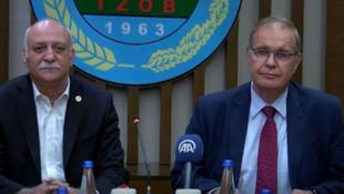 Faik Öztrak: ''Devletin her çiftçi ailesine 30 bin lira borcu var''