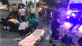 Ankara'da feci kaza: Yaralılar var