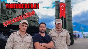 Türk Youtuber'dan S-400 füzesi incelemesi