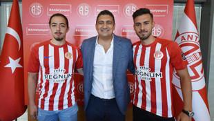 Antalyaspor Harun Kavaklıdere ve Ufuk Karagümrük ile sözleşme imzaladı