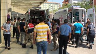 Siirt'te askerlere hain tuzak ! Zırhlı araç geçerken patlama oldu