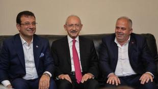 Kılıçdaroğlu ve İmamoğlu AK Partili belediye başkanına ziyaret