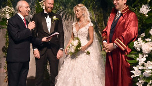 İmamoğlu İBB Başkanı olarak ilk nikahını kıydı !
