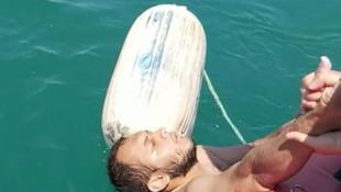 Karadeniz'de inanılmaz kurtuluş! 15 saat sonra kurtarıldı