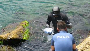 İstanbul'da sahilde silah bulundu