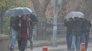 Yaza sağanak yağış molası! Dolu ve hortum uyarısı yapıldı!