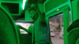 Otobüste kızı taciz eden sapık tutuklandı