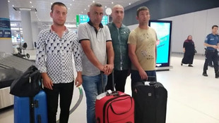 Libya'da alıkonulan 6 Türk vatandaşı İstanbul'da