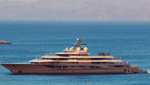 Dünyanın en zengini Jeff Bezos'un yatı Datça'da