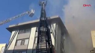 İstanbulun kalbinde korkutan yangın !