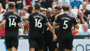 West Ham United 0 - 5 Manchester City