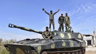 Suriye ordusu İdlib'te