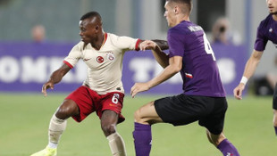 Galatasaray Fiorentina'ya 4-1 mağlup oldu!