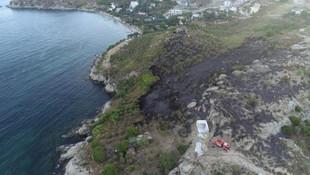 Marmara Adası'nda saatler süren kabus ! 80 hektar kül oldu