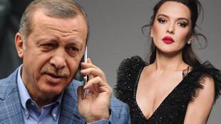 Erdoğan'dan Demet Akalın'a sürpriz telefon