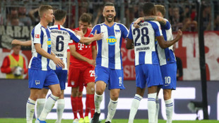 Bayern Münih 2 - 2 Hertha Berlin (Bundesliga)