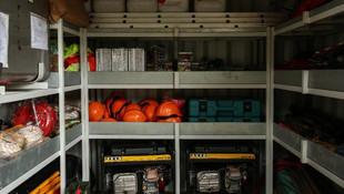 Deprem konteynerinin içinde neler var ?