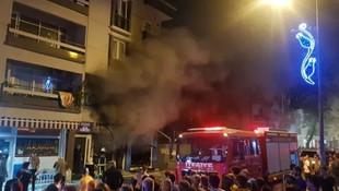 Bursa'da gece yarısı korkutan yangın