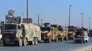 Suriye'de Türk konvoyuna saldırısı !