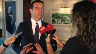 Ekrem İmamoğlu'ndan İSKİ istifaları açıklaması