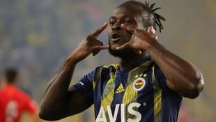 Fenerbahçe'de Victor Moses 5 hafta yok