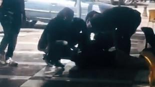 Şanlıurfa'da canlı bombanın yakalanma anı kamerada