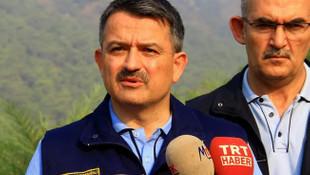 Yangın söndürme uçağı pilotu Bakan'ı yalanladı