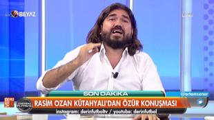 Rasim Ozan Kütahyalı canlı yayında Boşnaklardan özür diledi