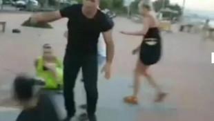 Antalya'da Rus turist ile Türk genci kavga etti