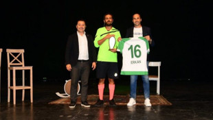 Erkan Kolçak Köstendil oyununun gelirini Bursaspor'a bağışladı