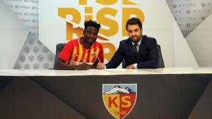 Kayserispor; Paul Georges Ntep, Adryan Tavares ve Furkan Polat'la sözleşme imzaladı
