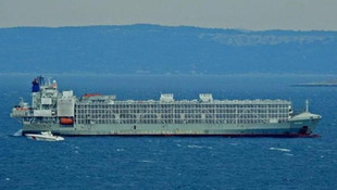 ''Ölüm gemisi'' yeniden Türkiye'de