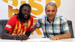 Emmanuel Adebayor, Kayserispor'da