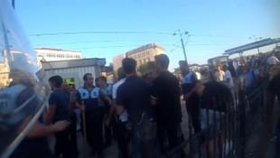 İstanbul'da polis ile zabıtalar arasında gerginlik