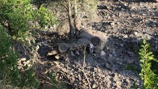Köprü yıkıldı, araçlar sürüklendi... Felaket gün ağarınca ortaya çıktı