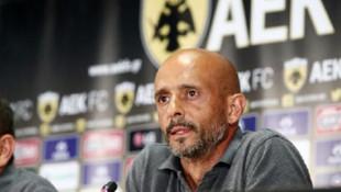 AEK'da Miguel Cardoso idmanda yok