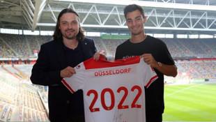 Kaan Ayhan Fortuna Düsseldorf'la sözleşmesini 2022'ye kadar uzattı