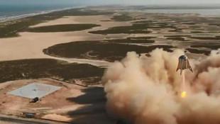 SpaceX'in yeni roketi testi geçti ! İşte o görüntüler