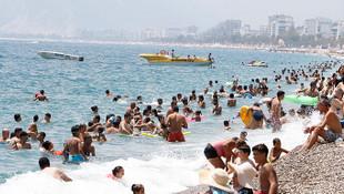 Türkiye'ye gelen turist sayısında patlama