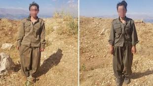 PKK'dan kaçan 2 kadın terörist teslim oldu
