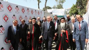 Cumhuriyet tarihinin ilk Süryani kilisesinin temeli atıldı
