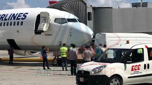 Yeni havalimanında bir kaza daha