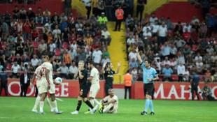 Bernard Mensah ve Pedro Henrique, Galatasaray maçı sonrası hakeme tepki gösterdiler